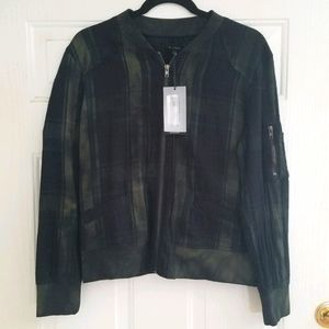 NWT Dear John Jayna Mineral Washed Jacket